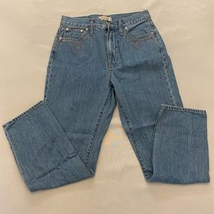 MADEWELL The Perfect Vintage Jean, Size 28